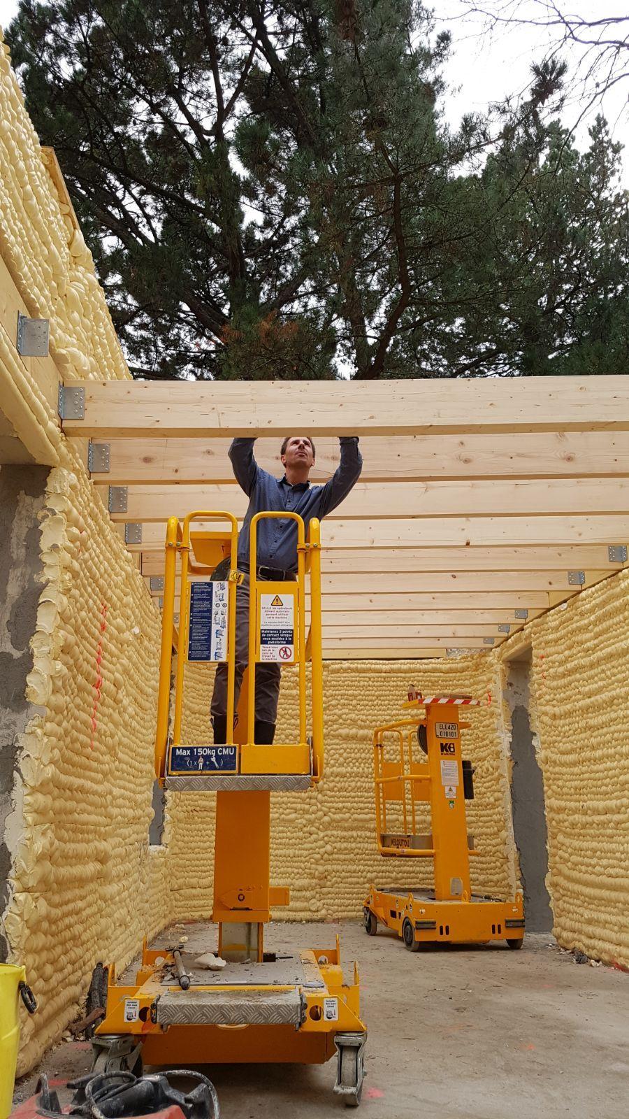 La premi re maison 3d est nantes le bois sa source for Construction maison 3d a nantes