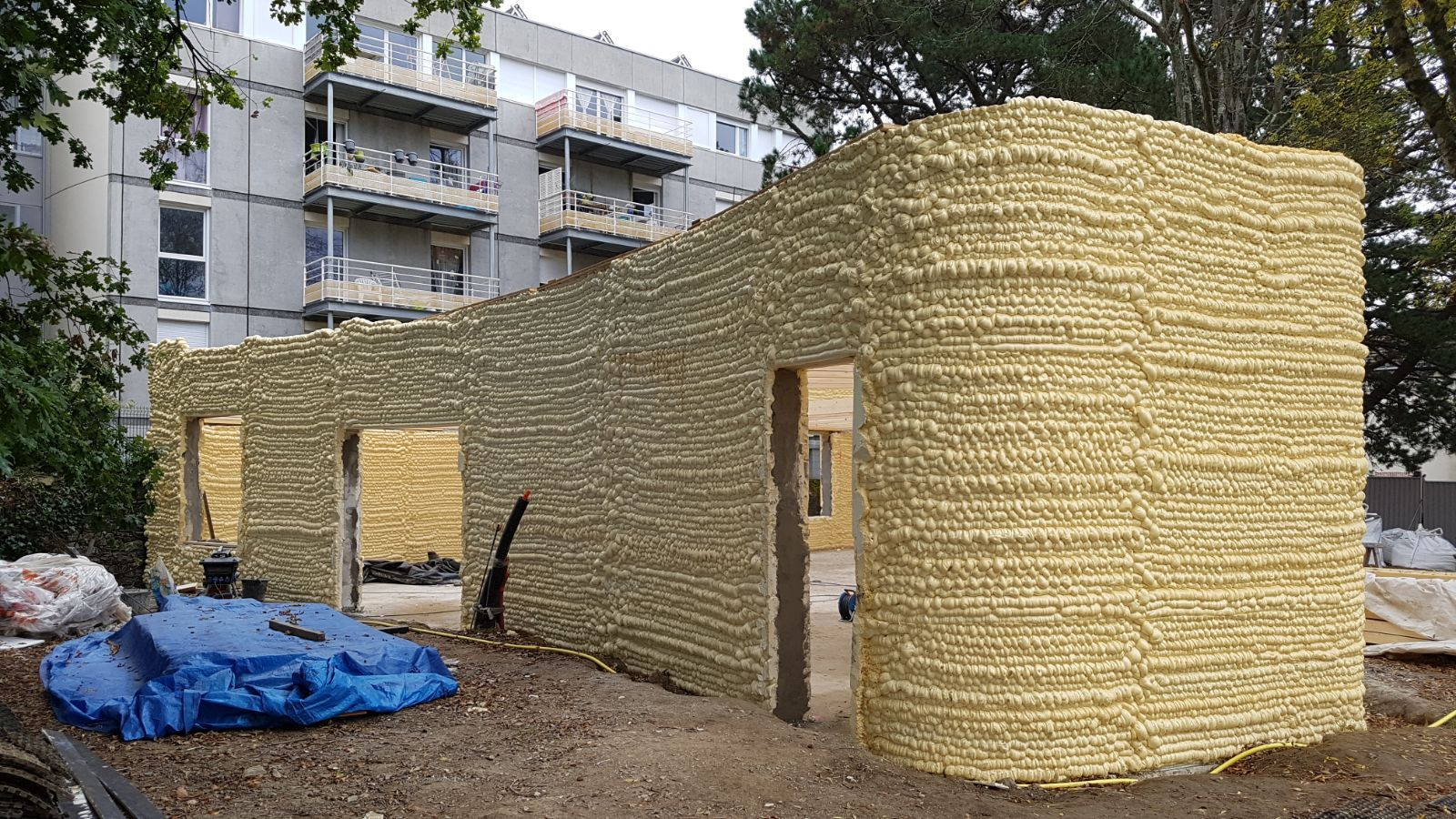 La premi re maison 3d est nantes le bois sa source for Construction maison 3d nantes